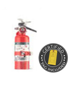 2.5 lb Halotron Clean Agent Fire Extinguisher