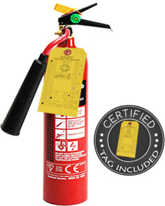 5 lb CO2 Dry Chemical Fire Extinguisher